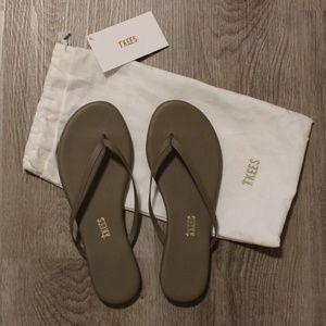"""Tkees """"Liner"""" sandal Flip Flops - colour: biscuit"""